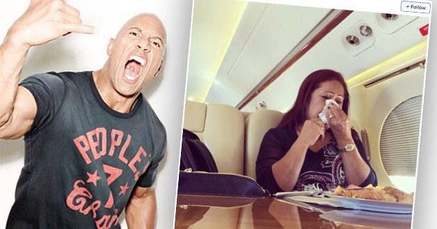 the-rock-mothers-day-Gifts celebs gave their parents-theinfong.com