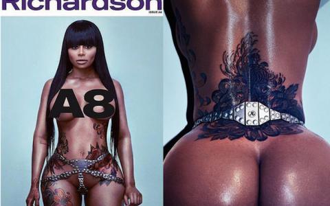 Blac Chyna poses nude for Richardson magazine (photos) 700x494 theinfong.com