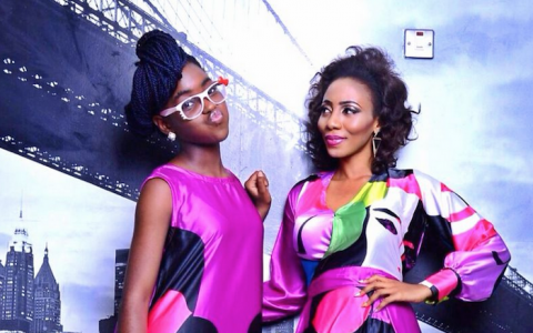 Mercy Aigbe's beautiful daughter, Michelle gets first modelling job (+Photos) theinfong.com 700x457