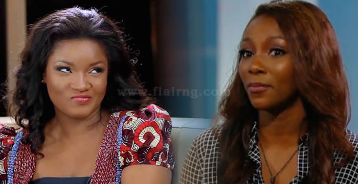 10 Nigerian celebrities who hate themselves so badly - genevieve and omotola jalade 700x361