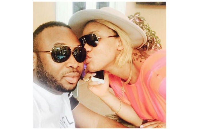 Tonto Dikeh goes wet on her husband theinfong.com