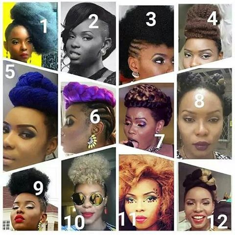 Yemi Alade's hairstyles theinfong.com