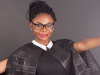 Karen Igho shares new photo, showing baby bump-700x309-theinfong.com