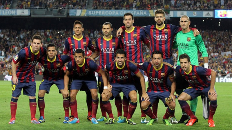 Top 20 Most Disappointing Dream Teams In Sports History- barcelona