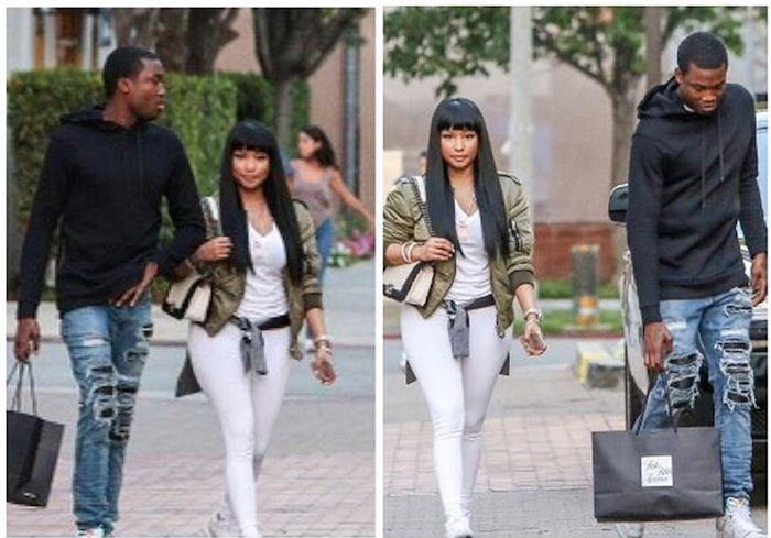 See a photo of Nicki Minaj and Meek Mill that has got everyone talking... theinfong.com 700x489