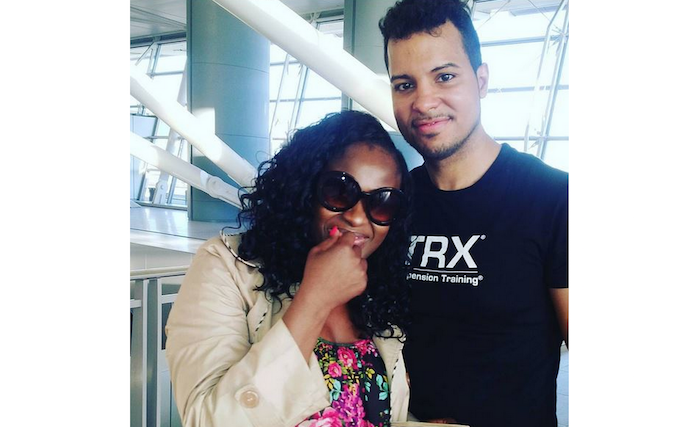 Uche Jombo Rodriguez and husband theinfong.com 700x427