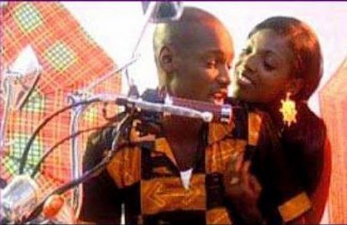 annie and 2face african queen