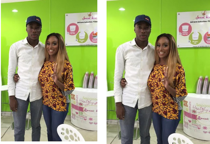 DJ Cuppy goes on fun date with fan (photos) theinfong.com 700x482