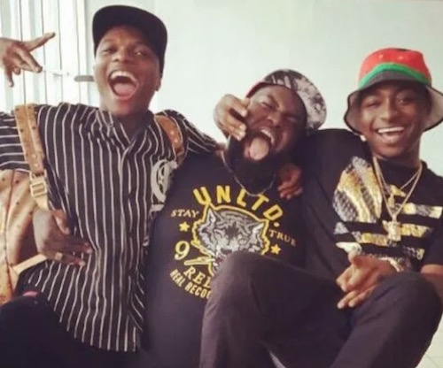 Special Spesh carries Wizkid and Davido