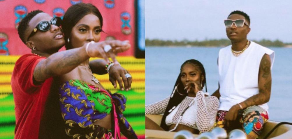 Tiwa Savage called herself Wizkid's First Lady