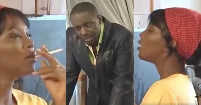 When Genevieve Nnaji was still smoking cigarette