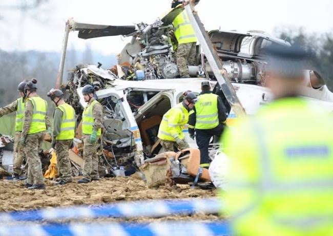 Leicester City Helicopter crash