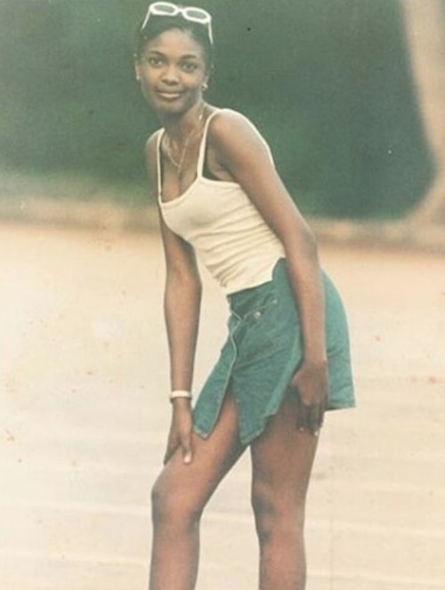 Omoni Oboli throwback photo