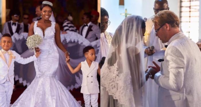 Ada Slim marries white lover