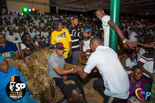 Shina Peller holds fun filled night for corpers