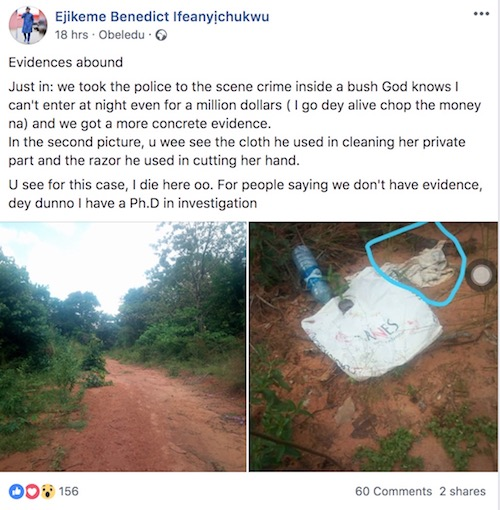 Pastor caught for raping 19 year old - Evidence