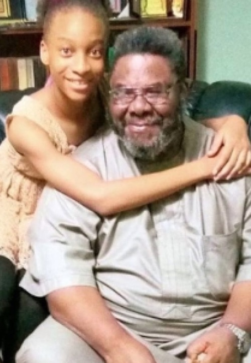 Pete Edochie and Yul Edochie's daughter - Pete's grand daughter