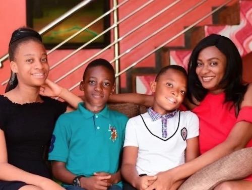 Yul Edochie's wife and children