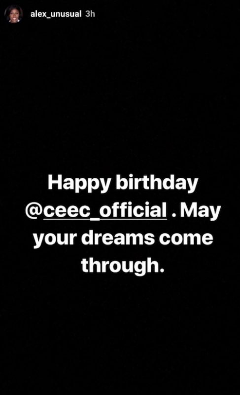 Alex sends birthday message to Cee-C theinfong
