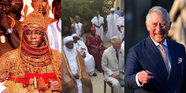 Ewuare II tells Prince Charles to bring back stolen artefacts