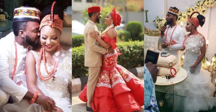 Wedding photos of Linda Ejiofor and Ibrahim Suleiman