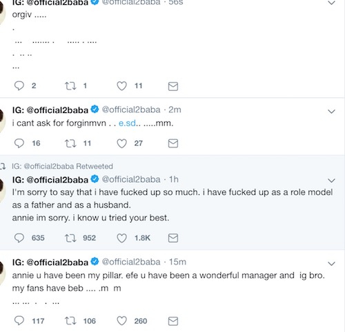 2Face split with Annie Twitter