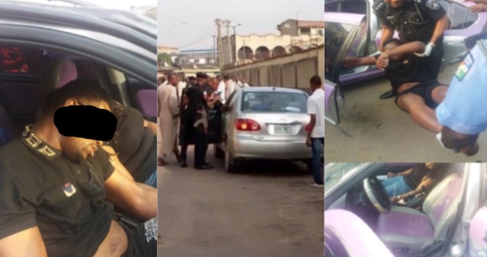 man and woman found lifeless inside car in Lagos