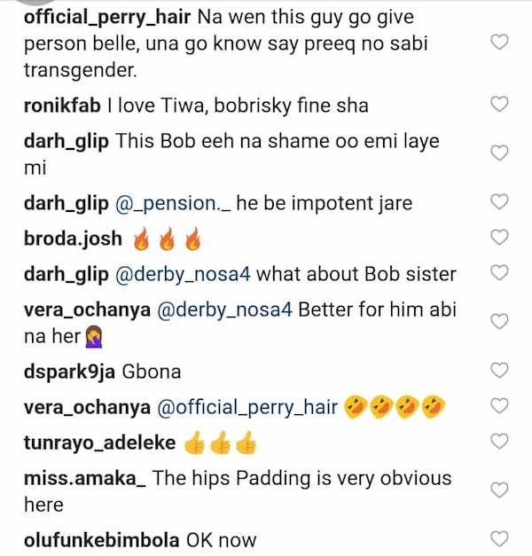 Reaction to Bobrisky and Tiwa Savage dance