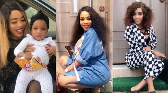 Bukola Adeeyo gives birth