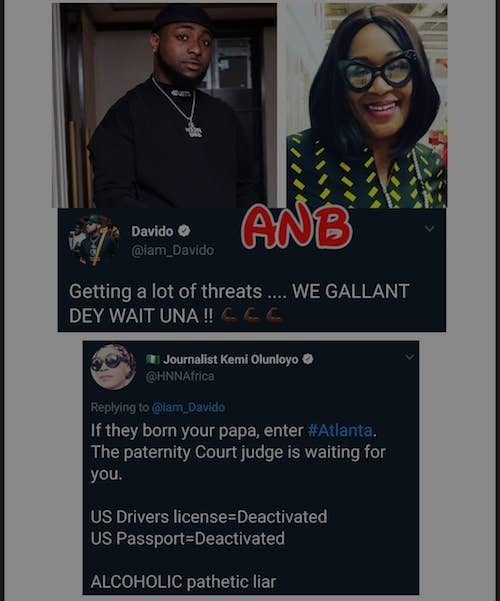 Kemi attacks Davido again