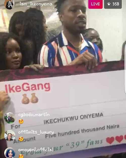 bbnaija ike gets endorsement
