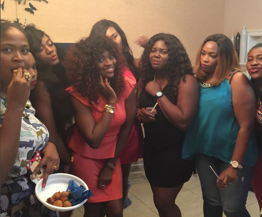 Photos from Comedian Bovi's wife's birthday party - theinfong.com