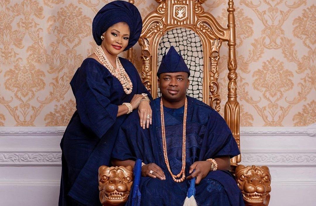 Oba Elegushi and first wife