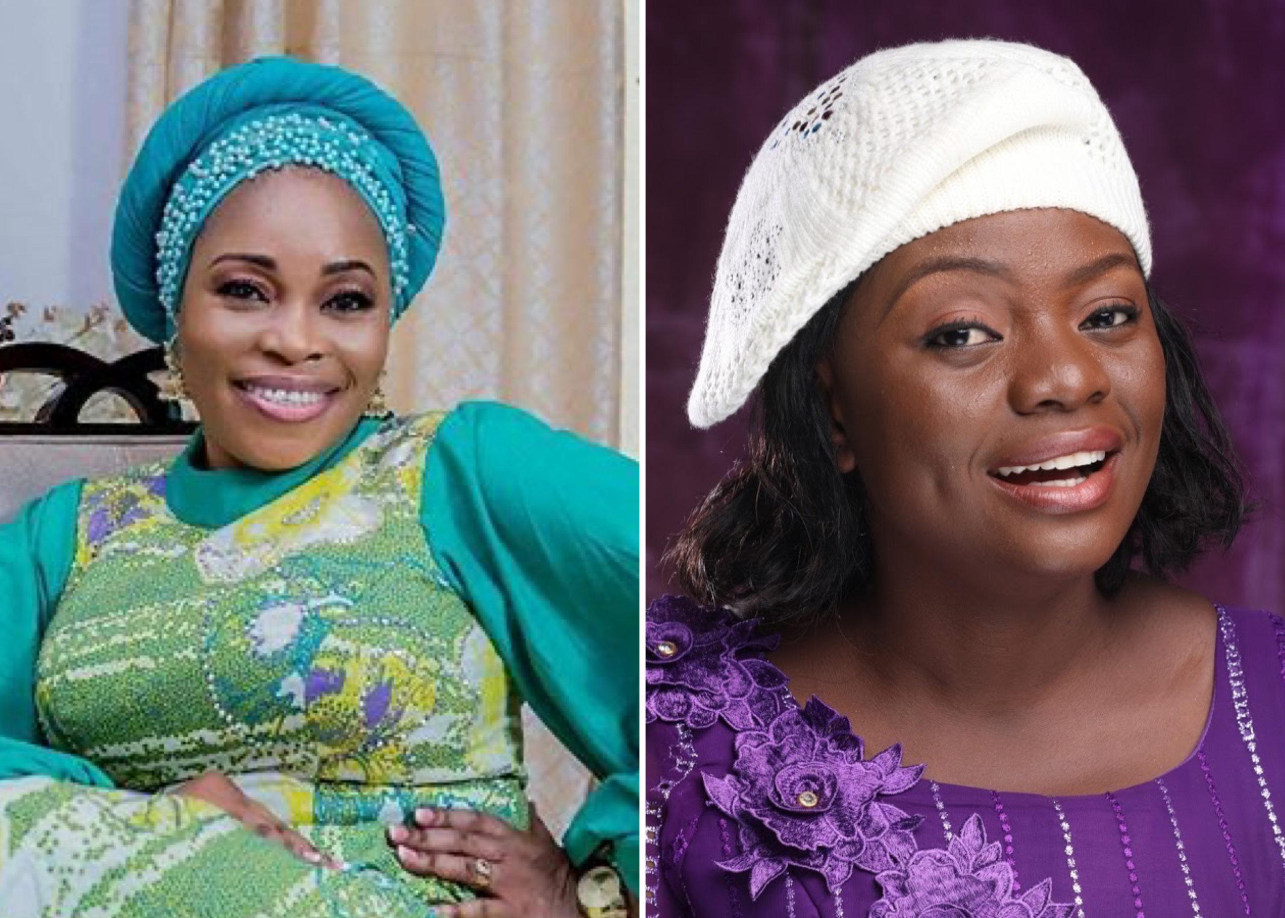 Gospel singer, Tope Alabi under fire for condemning her colleague, Adeyinka  Alaseyori   Theinfong