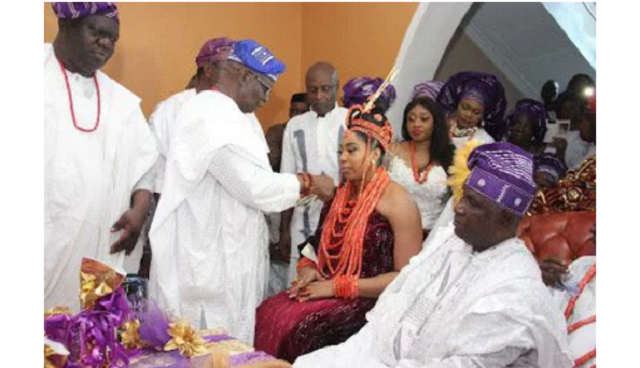 Ooni of Ife absent at his own wedding