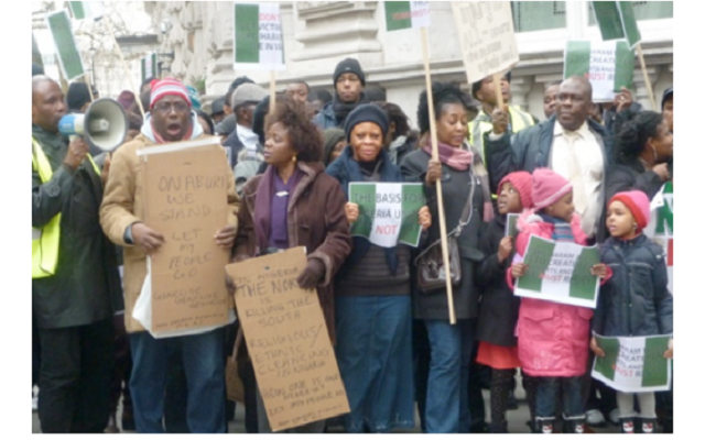 Nigerians who earn less than £35K in the UK to be deported