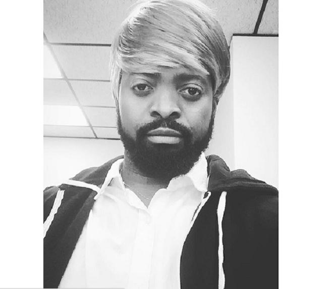Basketmouth shares hilarious photo of himself rocking a wig