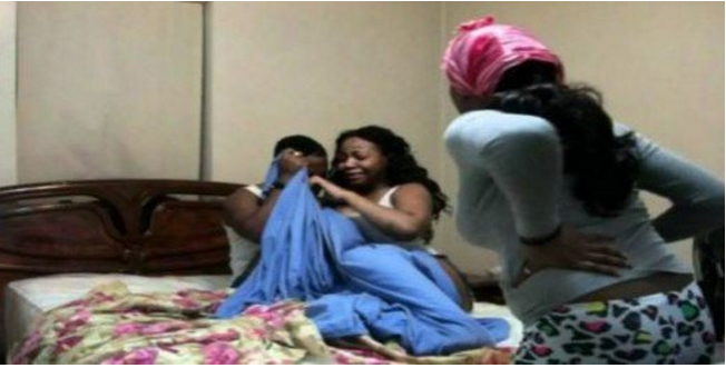 Married woman sleeping with a young boy busted