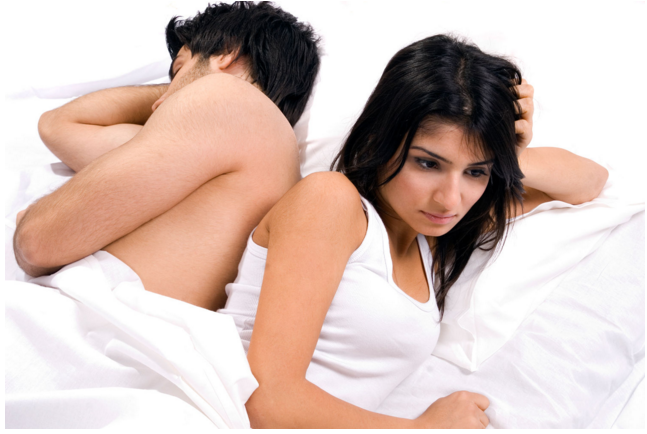 Reasons your man doesn't enjoy making love with you