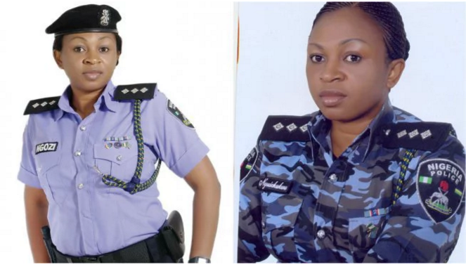 Most attractive Nigerian female police officers
