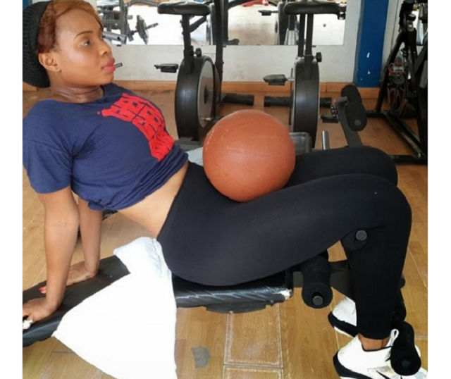 Female celebrities you didn't know are Gym Junkies