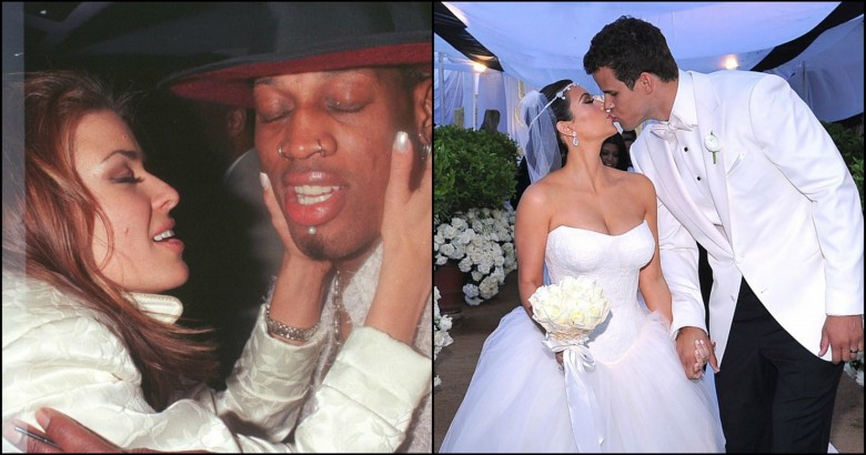 Shortest celebrity marriages ever