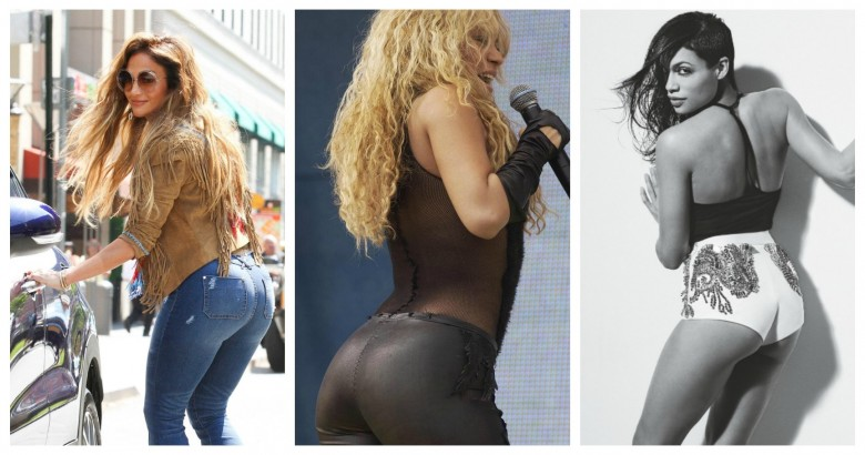 Hottest Latina stars with marvellous butts