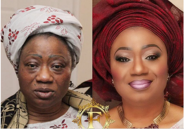 Times Nigerian women deceived men with their makeup