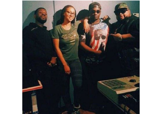 What Wande Coal was caught doing with Keri Hilson