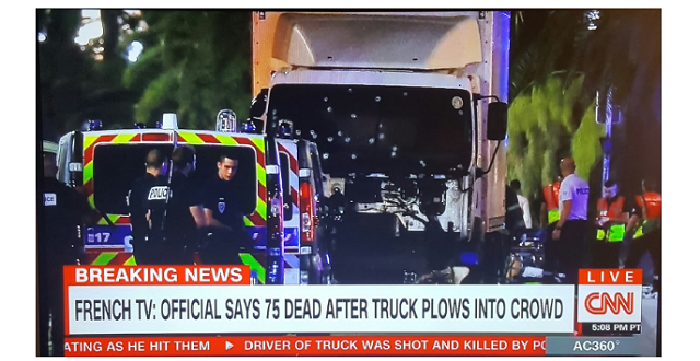 The truck driver that plowed into a crowd