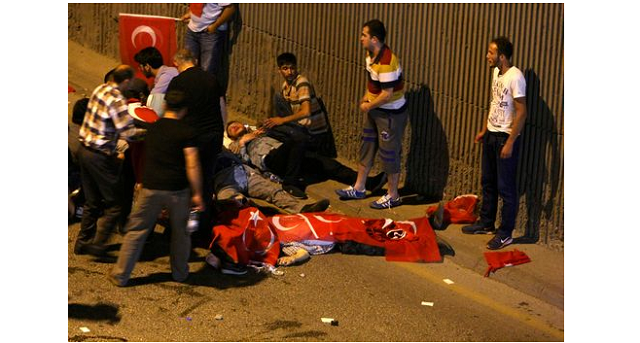 60 killed in attempted coup in Turkey