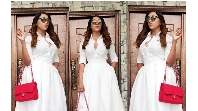 Rukky Sanda looks stylish in ₦250,000 high heels