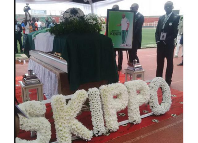 Stephen Keshi's Funeral