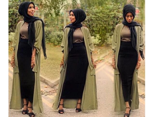 Stylish ways for Nigerian ladies to rock the Hijab